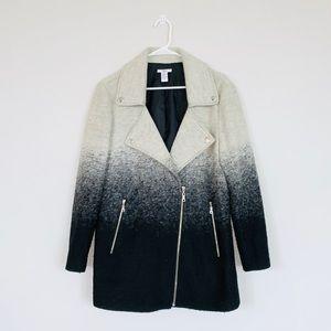 Bar III Ombré Wool Coat